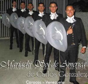 mariachi sol de america� de carlos gonzalez, mariachis en caracas, eventos, etc.