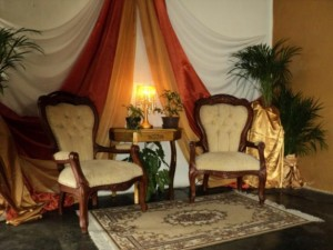 decoración con telas, decoración para bodas, matrimonios, eventos