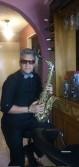 Saxofonista cantante con amplio repertorio musical (jazz, chatarritas)