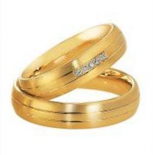a689cf9f6599 Aros de boda. Anillos casamiento. Preciosos aros de boda en oro 18 k ...